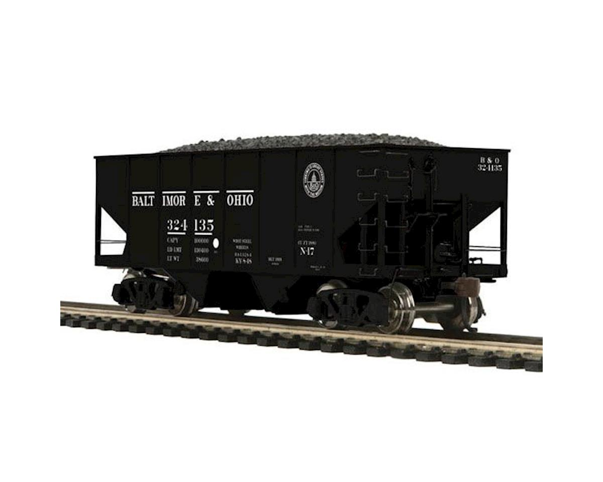 MTH Trains HO 55-Ton Twin Hopper, B&O #324135