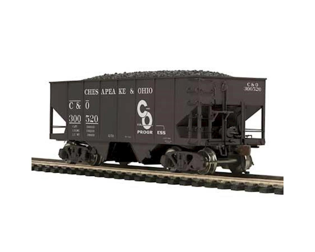 MTH Trains HO USRA 55-Ton Steel Twin Hopper, C&O #300520