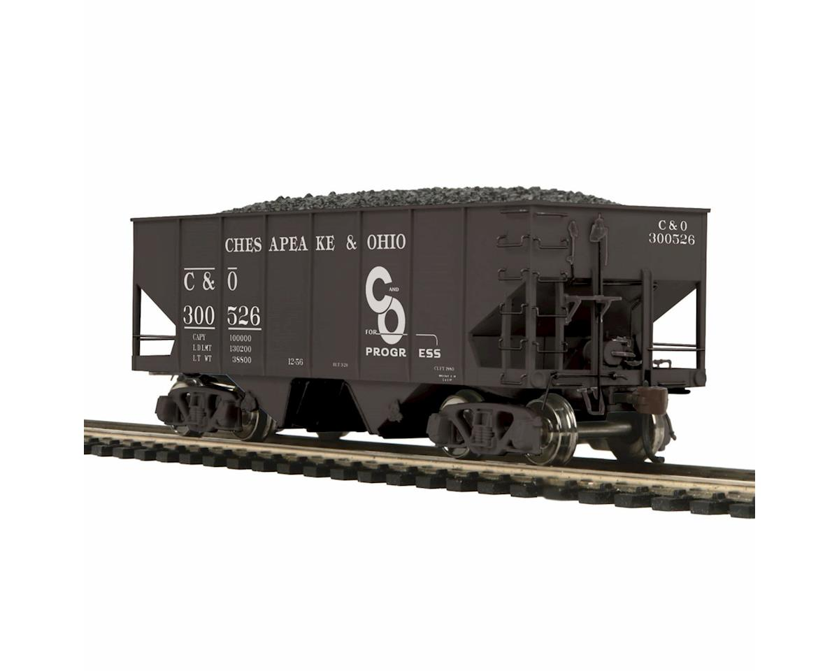 MTH Trains HO USRA 55-Ton Steel Twin Hopper, C&O #300526