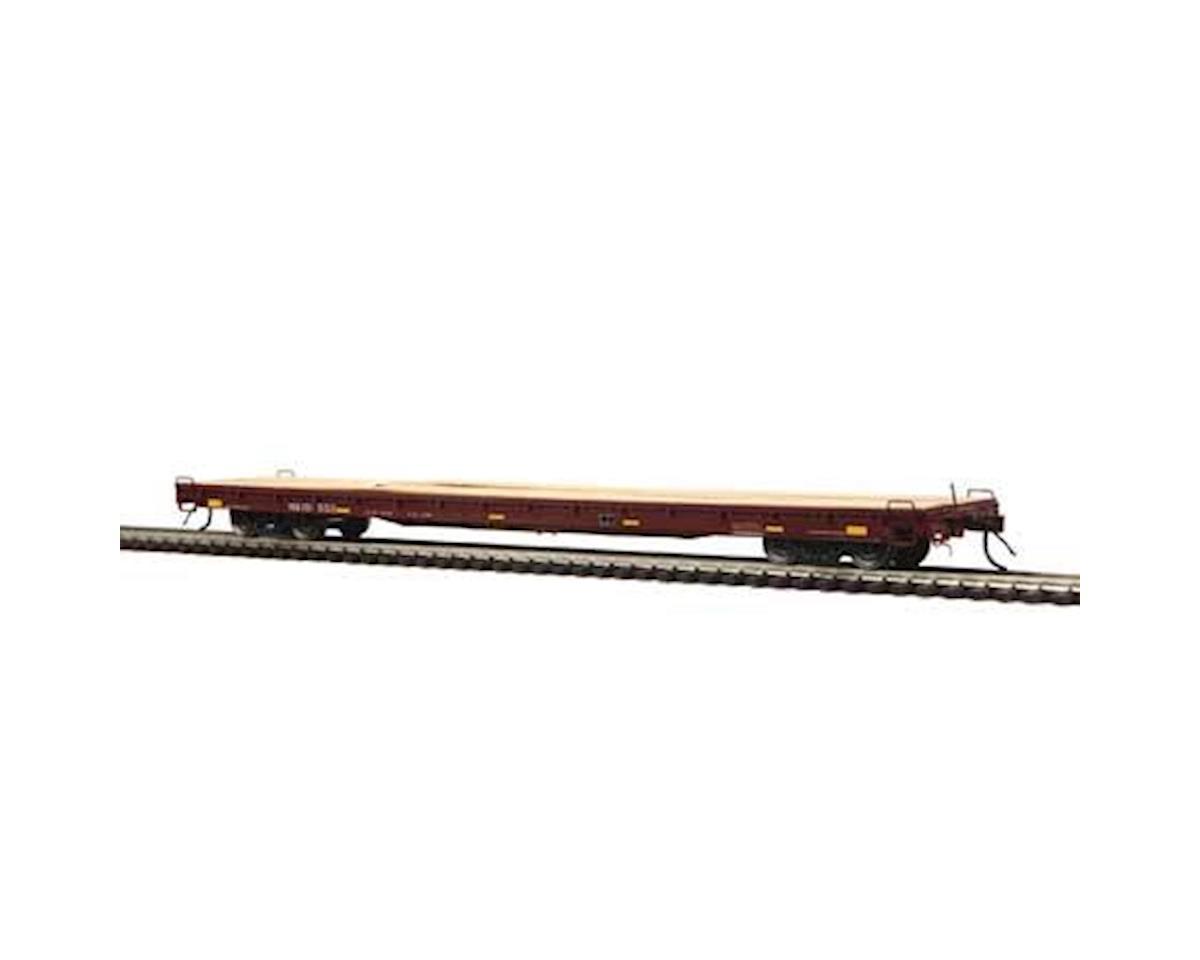 MTH Trains HO 60' Wood Deck Flat, NS #101502