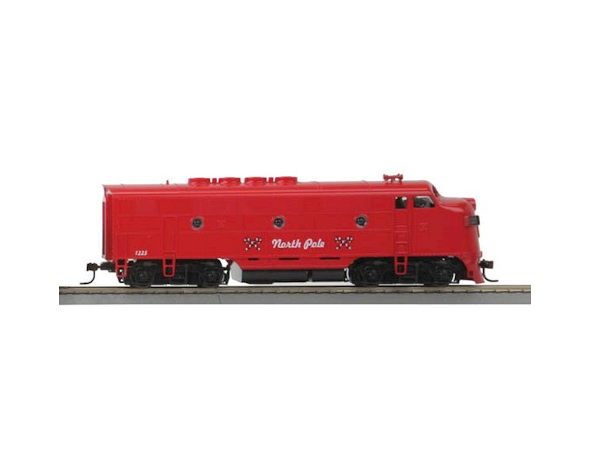 HO F3A Dummy, Christmas by MTH Trains