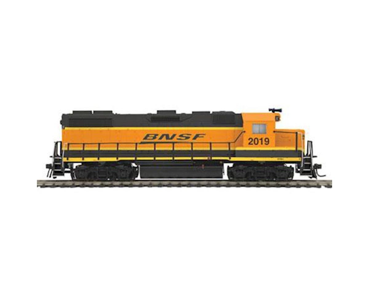 MTH Trains HO GP38-2 w/PS3, BNSF #2019