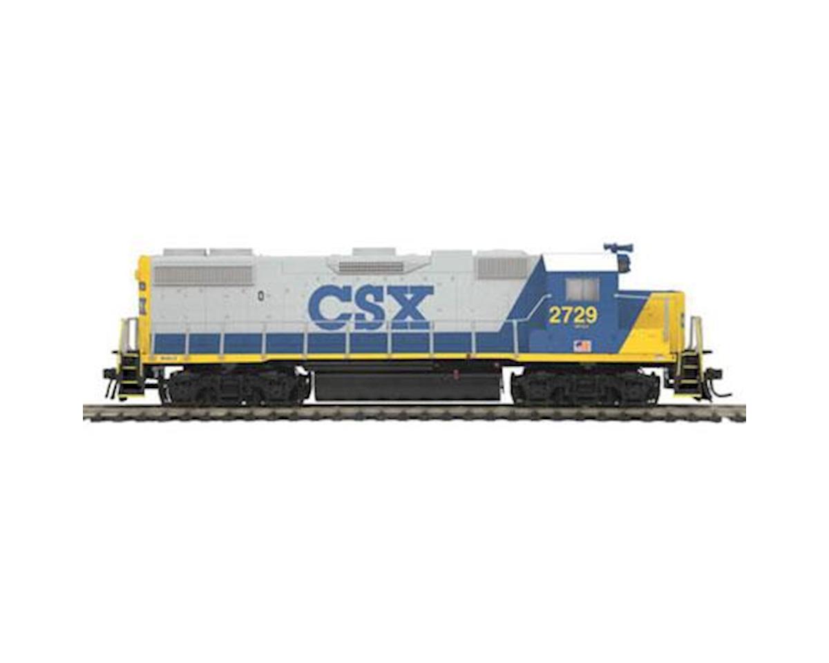 MTH Trains HO GP38-2 w/NMRA, CSX #2729