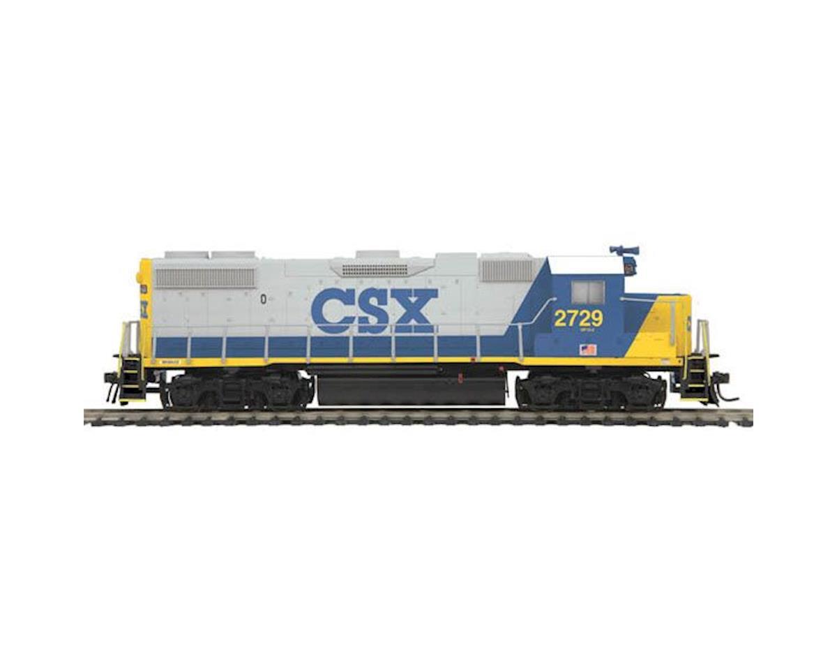 MTH Trains HO GP38-2 w/PS3, CSX #2729