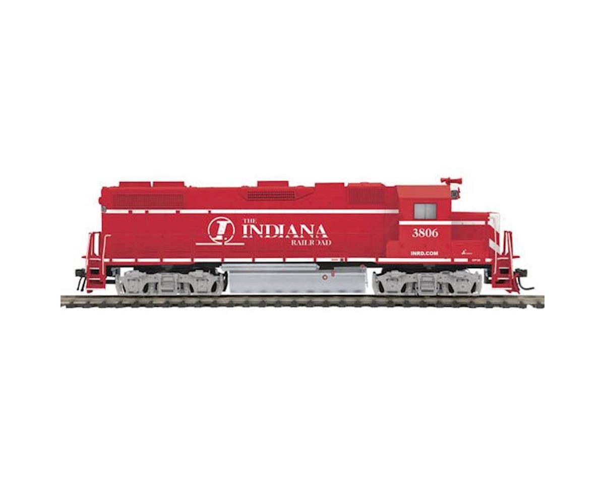 MTH Trains HO GP38-2 w/PS3, INRD #3806