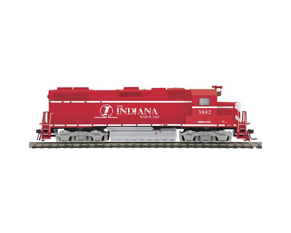 MTH Trains HO GP38-2 w/PS3, INRD #3802