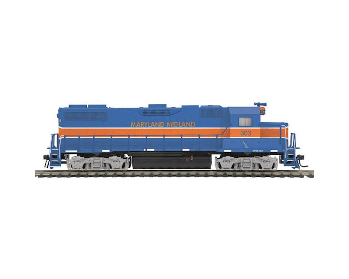 HO GP38-2 w/PS3, MMID #303 by MTH Trains