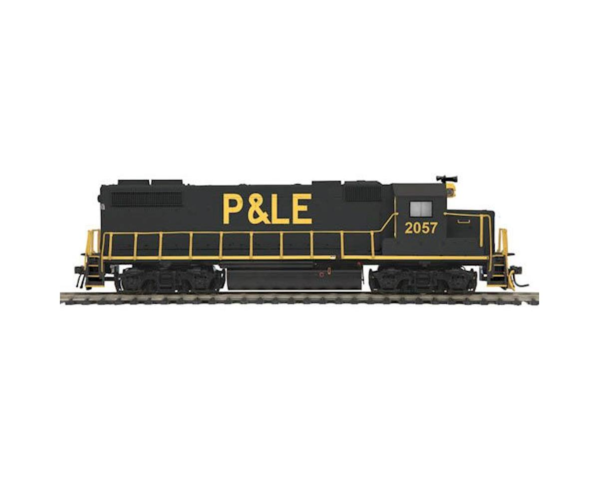 MTH Trains HO GP38-2 w/PS3, P&LE #2057