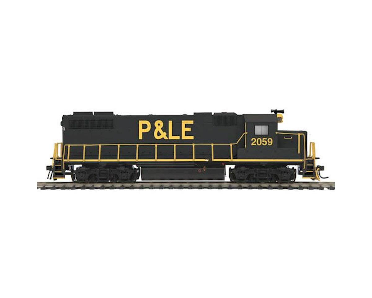 MTH Trains HO GP38-2 w/PS3, P&LE #2059