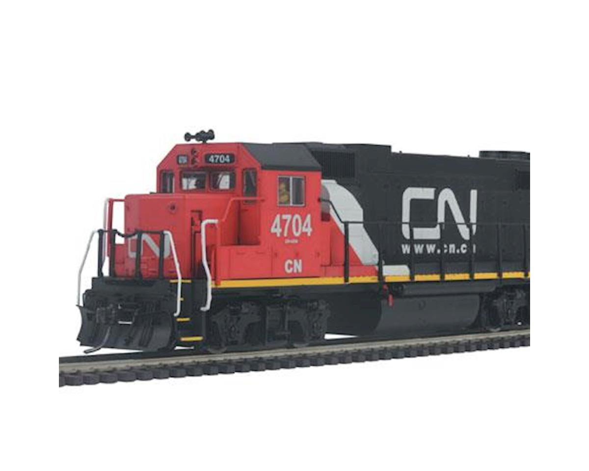 MTH Trains HO GP38-2 w/PS3, CN # 4704