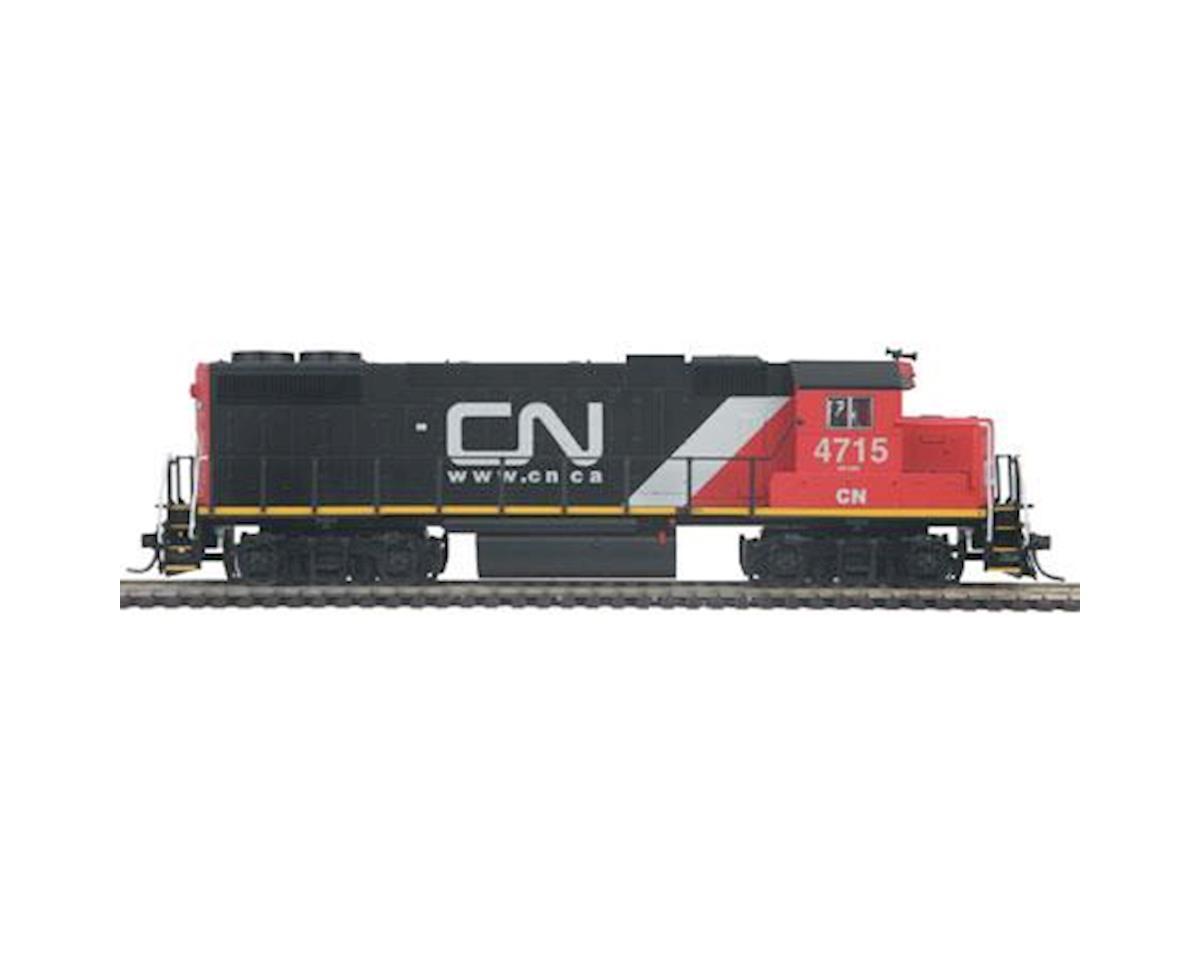 MTH Trains HO GP38-2 w/PS3, CN # 4715
