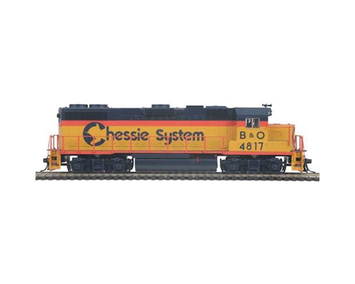 MTH Trains HO GP38-2 w/PS3, Chessie #4817