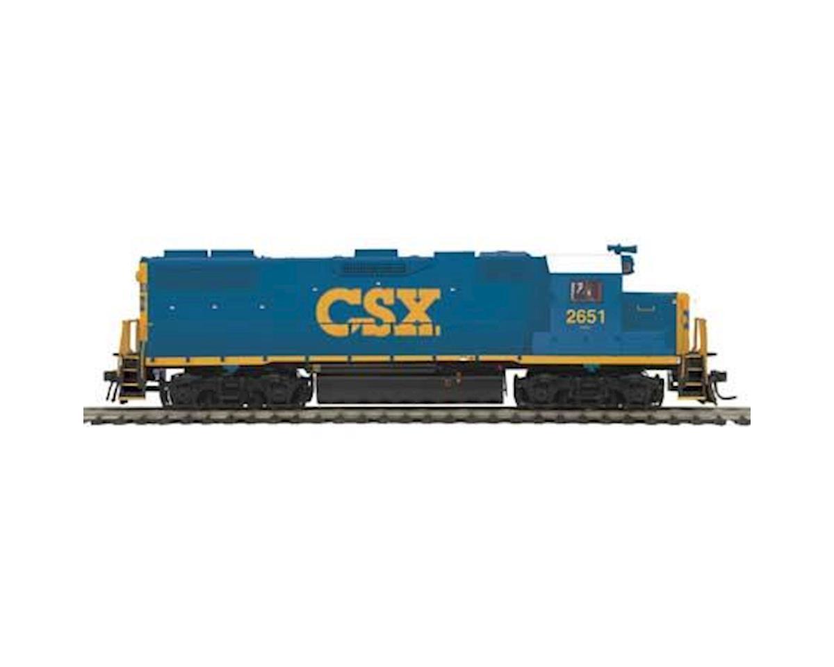 MTH Trains HO GP38-2 w/PS3, CSX #2651