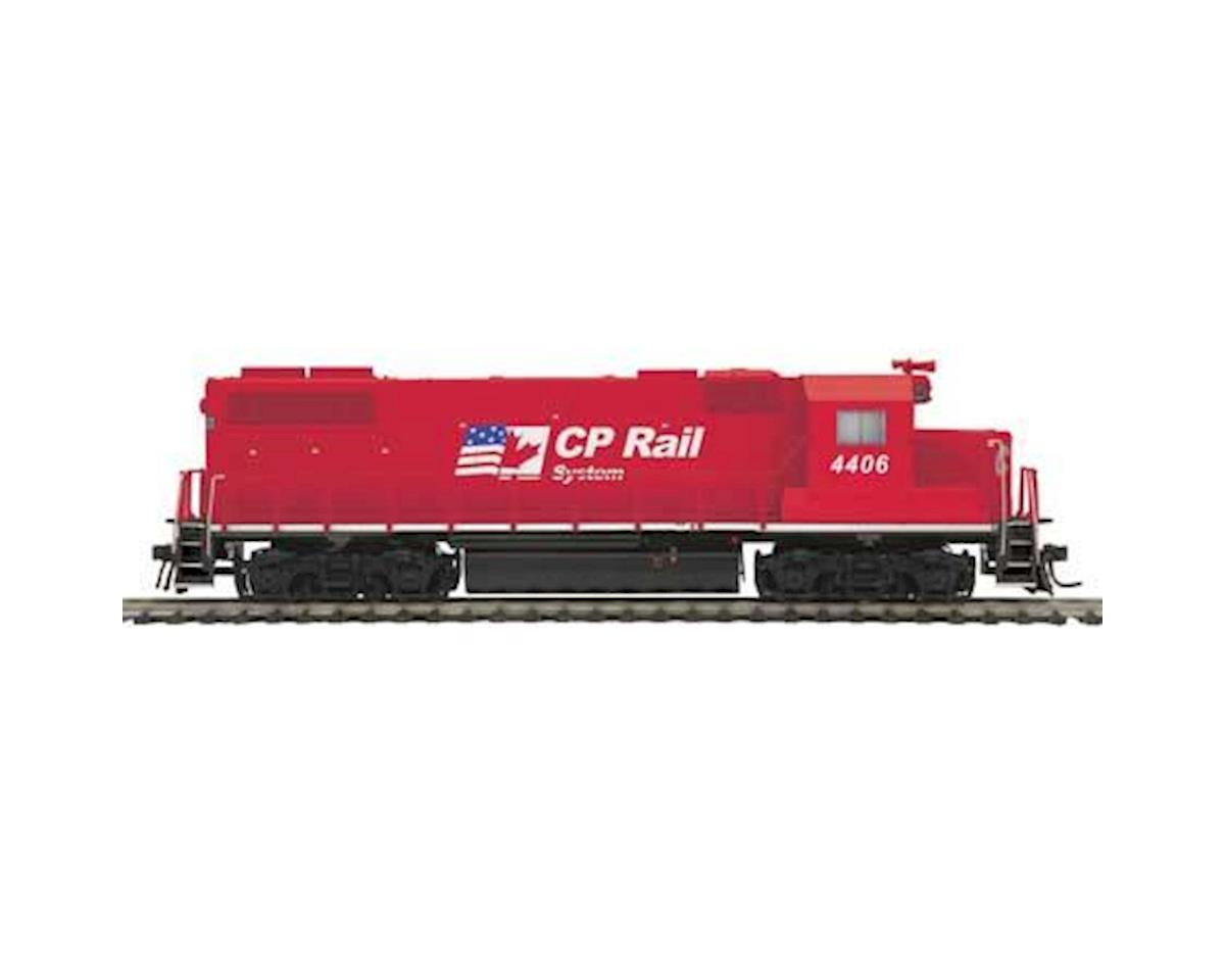 MTH Trains HO GP38-2 w/PS3, CPR #4406