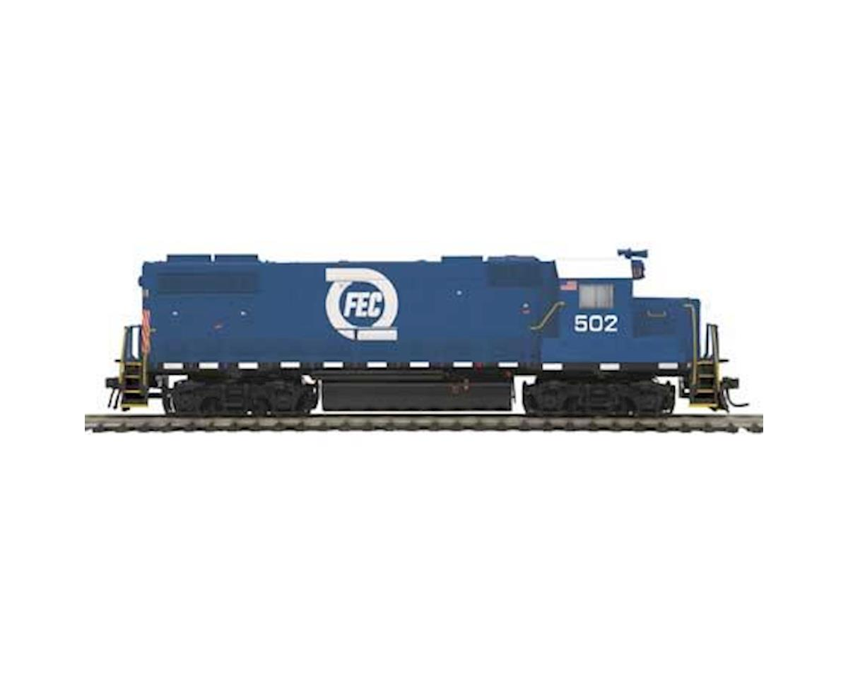 HO GP38-2 w/PS3, FEC #502 by MTH Trains