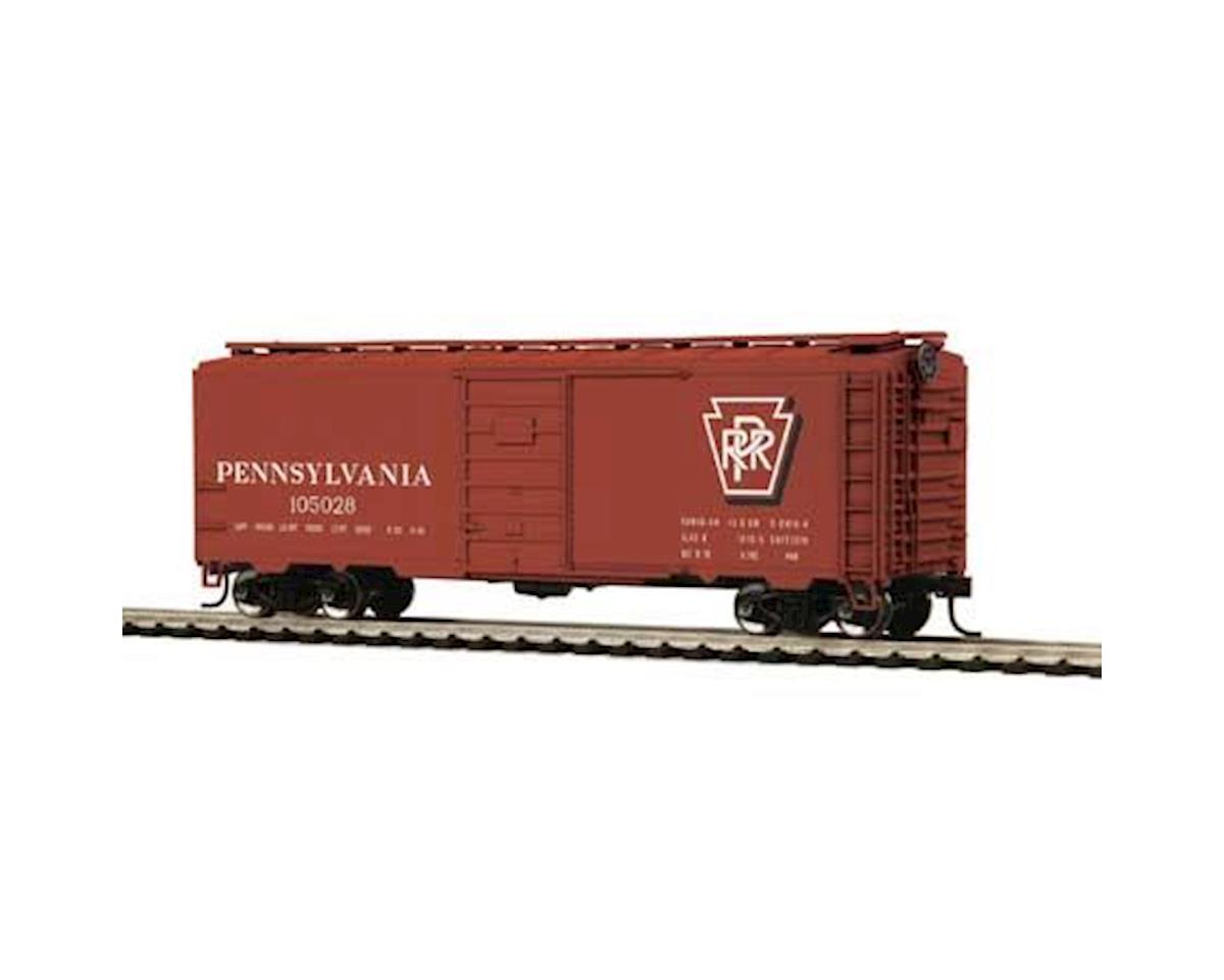 MTH Trains HO 40' PS-1 Box, PRR #105028