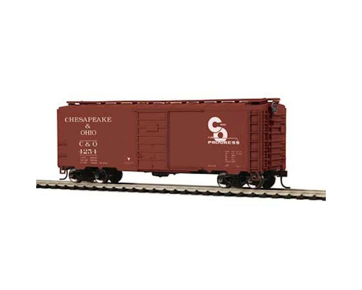 MTH Trains HO 40' PS-1 Box, C&O #4254