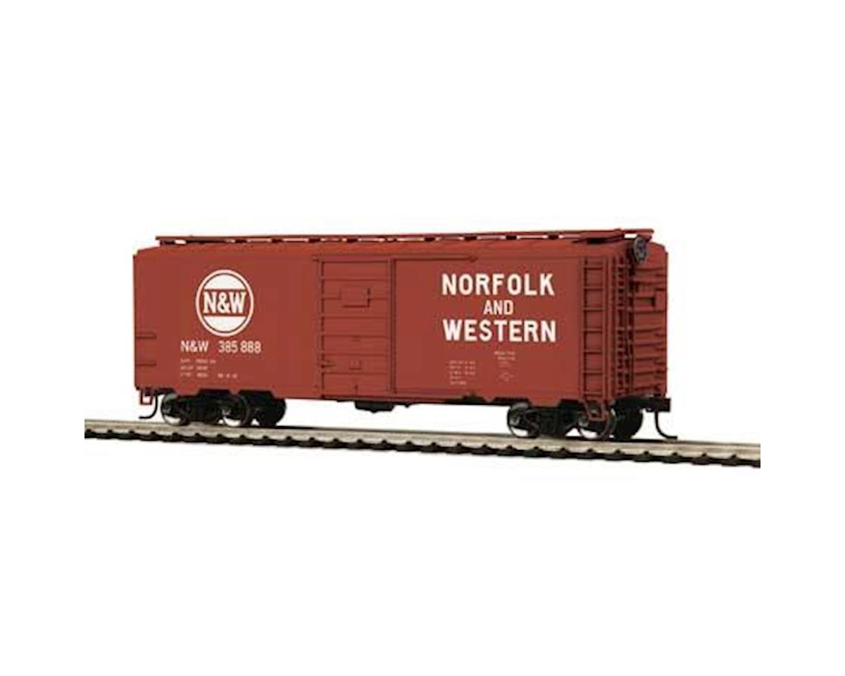 MTH Trains HO 40' PS-1 Box, N&W #385888