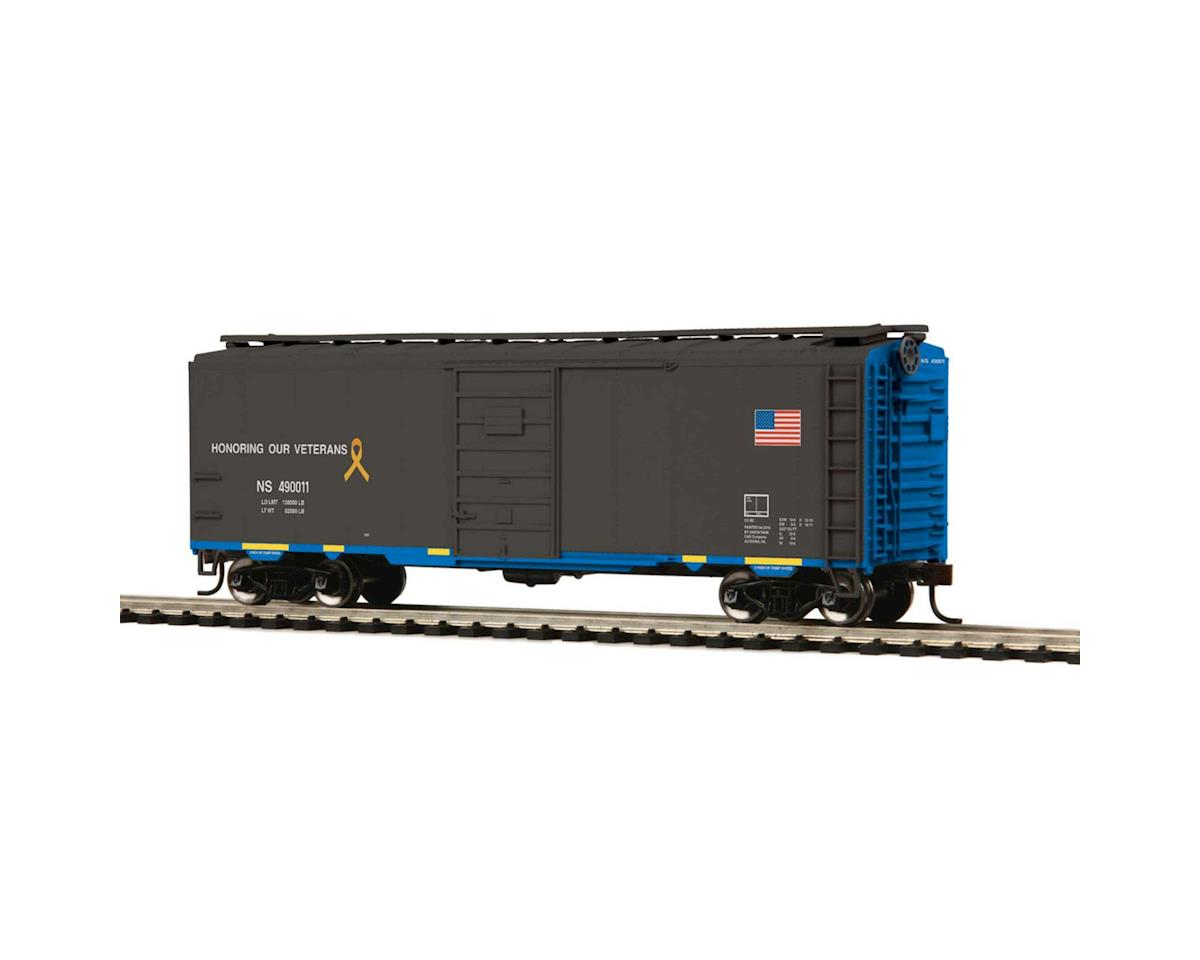 MTH Trains HO 40' PS-1 Box, NS #490011