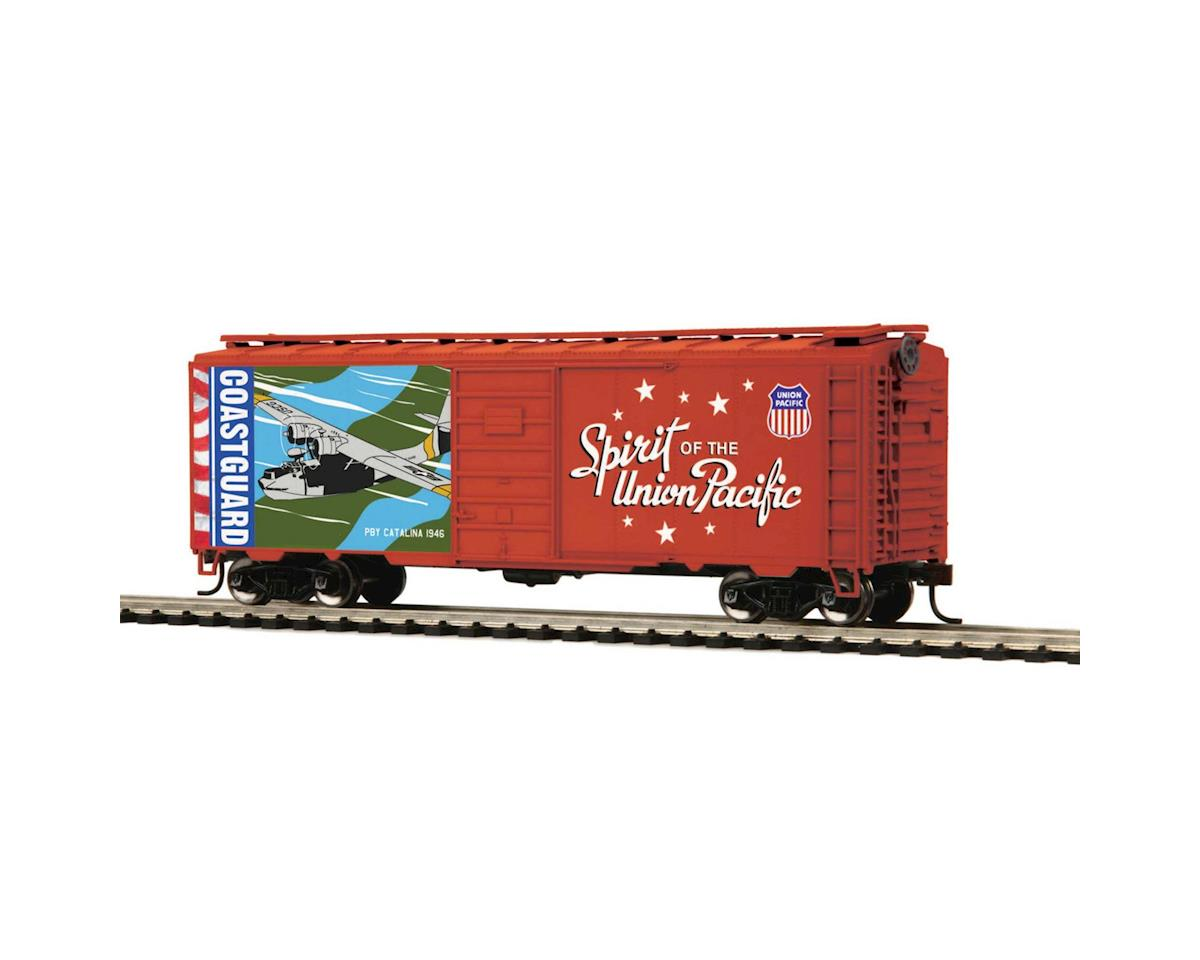 MTH Trains HO 40' PS-1 Box, US Coast Guard/Spirit of UP