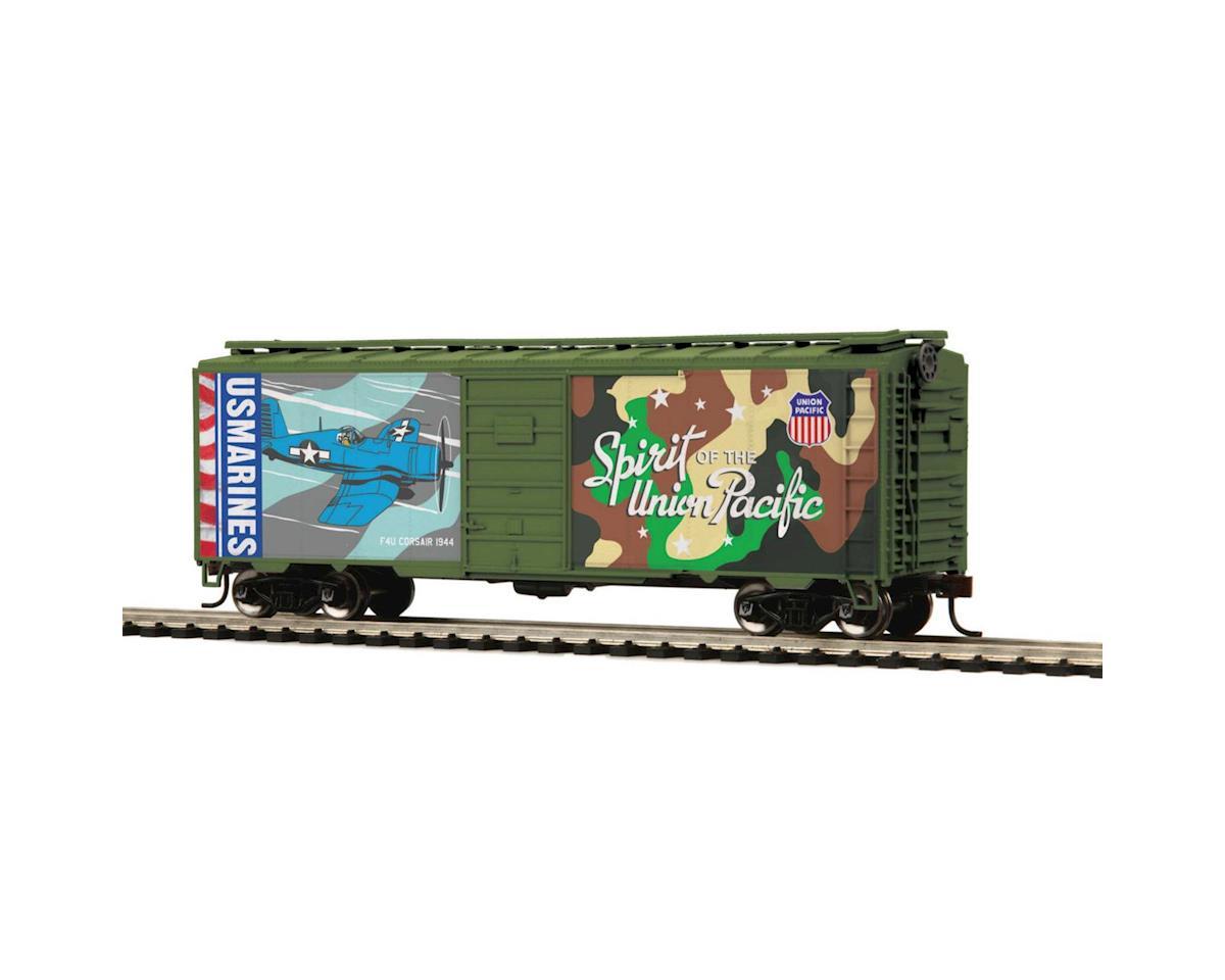 MTH Trains HO 40' PS-1 Box, US Marine Corps