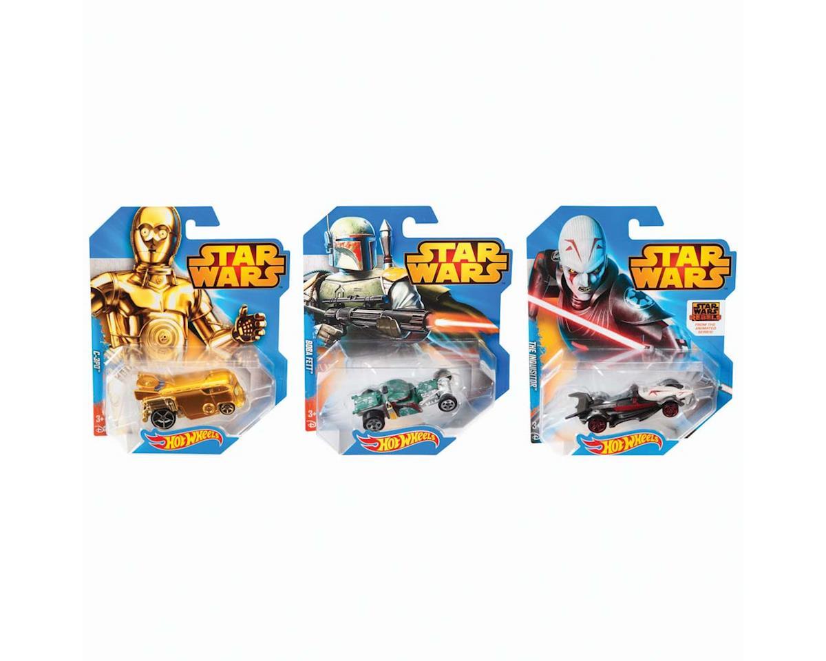 Mattel 1/64 Hot Wheels Star Wars Character Car Asst (12)