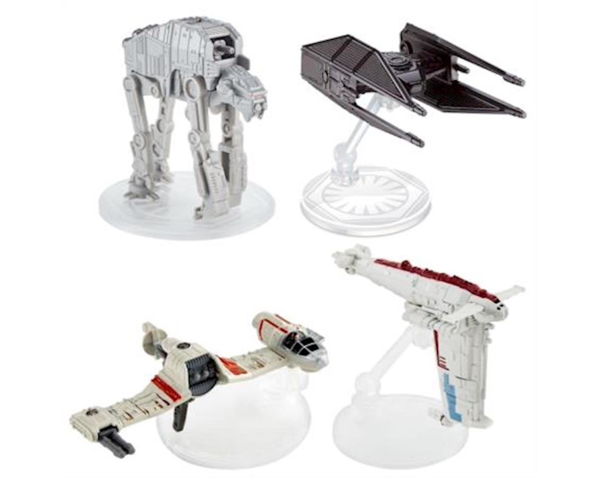 Hot Wheels Star Wars Episode VIII Vehicles Assortment (1 Random Vehicle from Assortment)