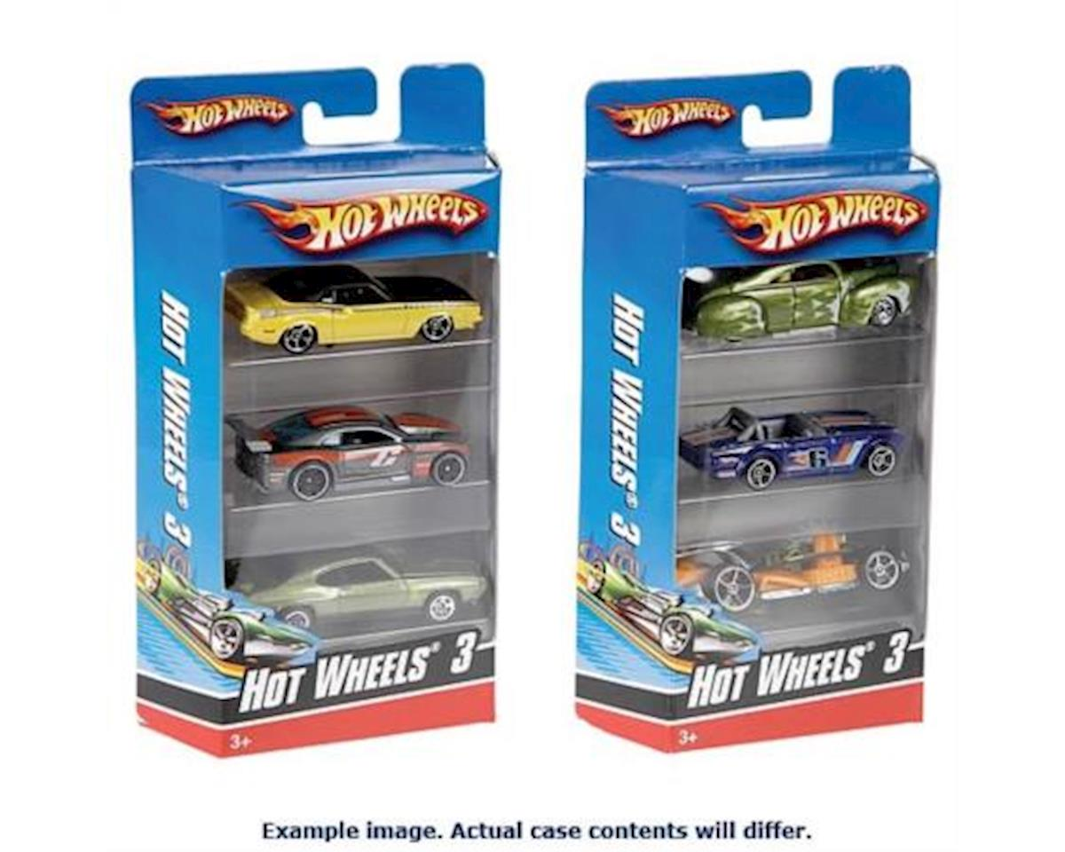 MAttel K5904 3 pack of Hot Wheel Cars Assortment