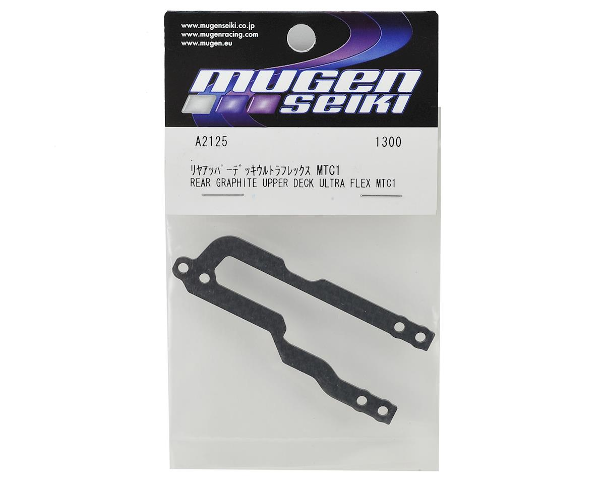 Mugen Seiki MTC1 Graphite Rear Upper Deck (Ultra Flex)