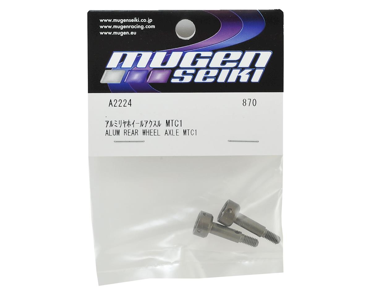 Mugen Seiki MTC1 Aluminum Rear Wheel Axle (2)