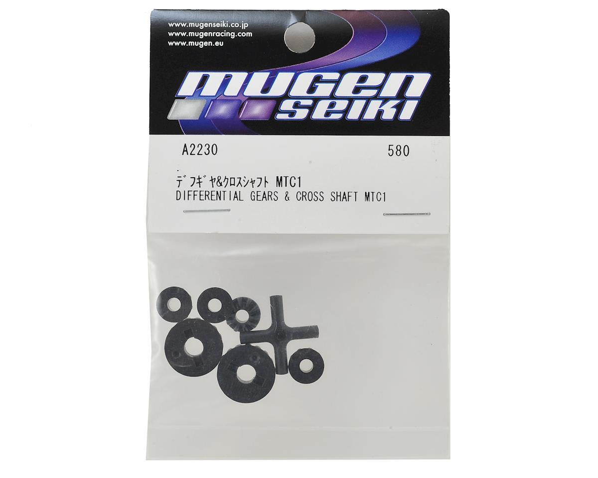 Mugen Seiki MTC1 Differential Gears & Cross Shaft Set