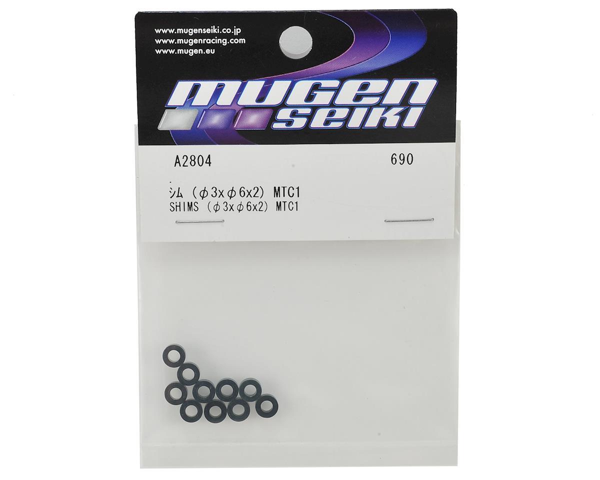 Mugen Seiki 3x6x2mm Aluminum Shims (10)