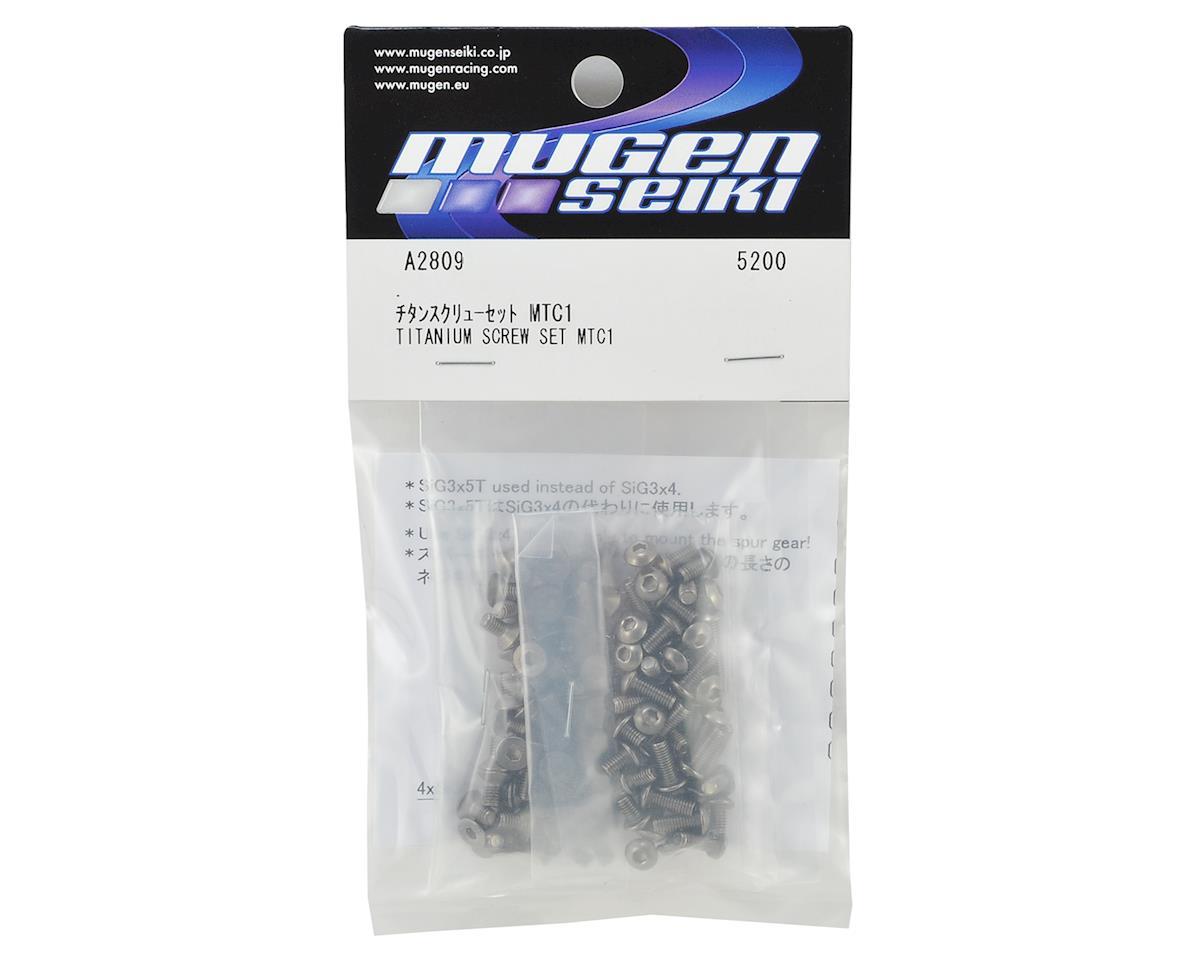 Mugen Seiki MTC1 Titanium Screw Set