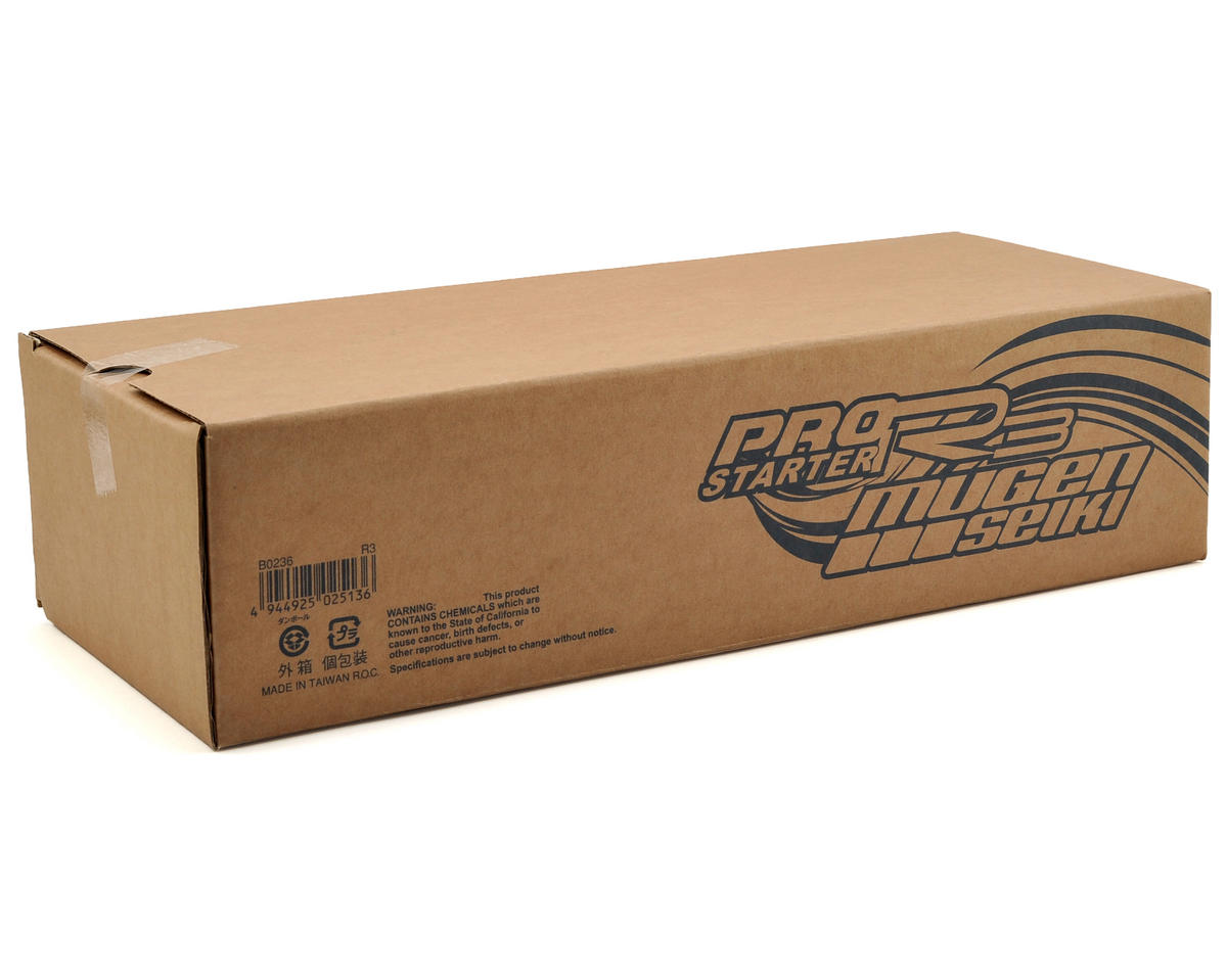 Mugen Seiki Pro Starter RIII On Road Starter Box (Gray)