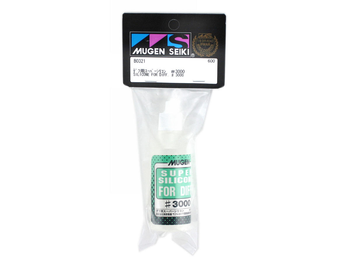 Silicone Differential Oil (50ml) (3,000cst) by Mugen Seiki