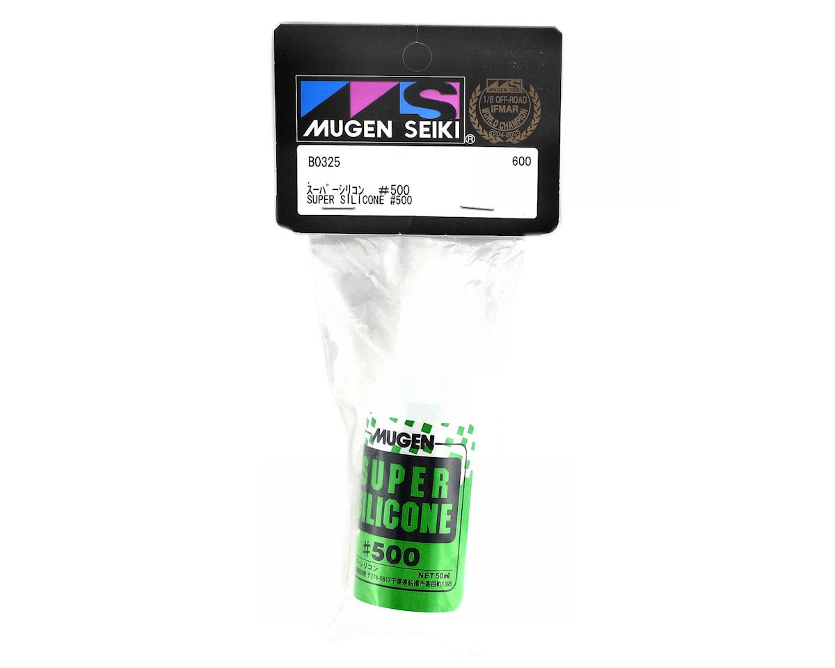 Mugen Seiki Super Silicone Shock Oil (50ml) (500cst)