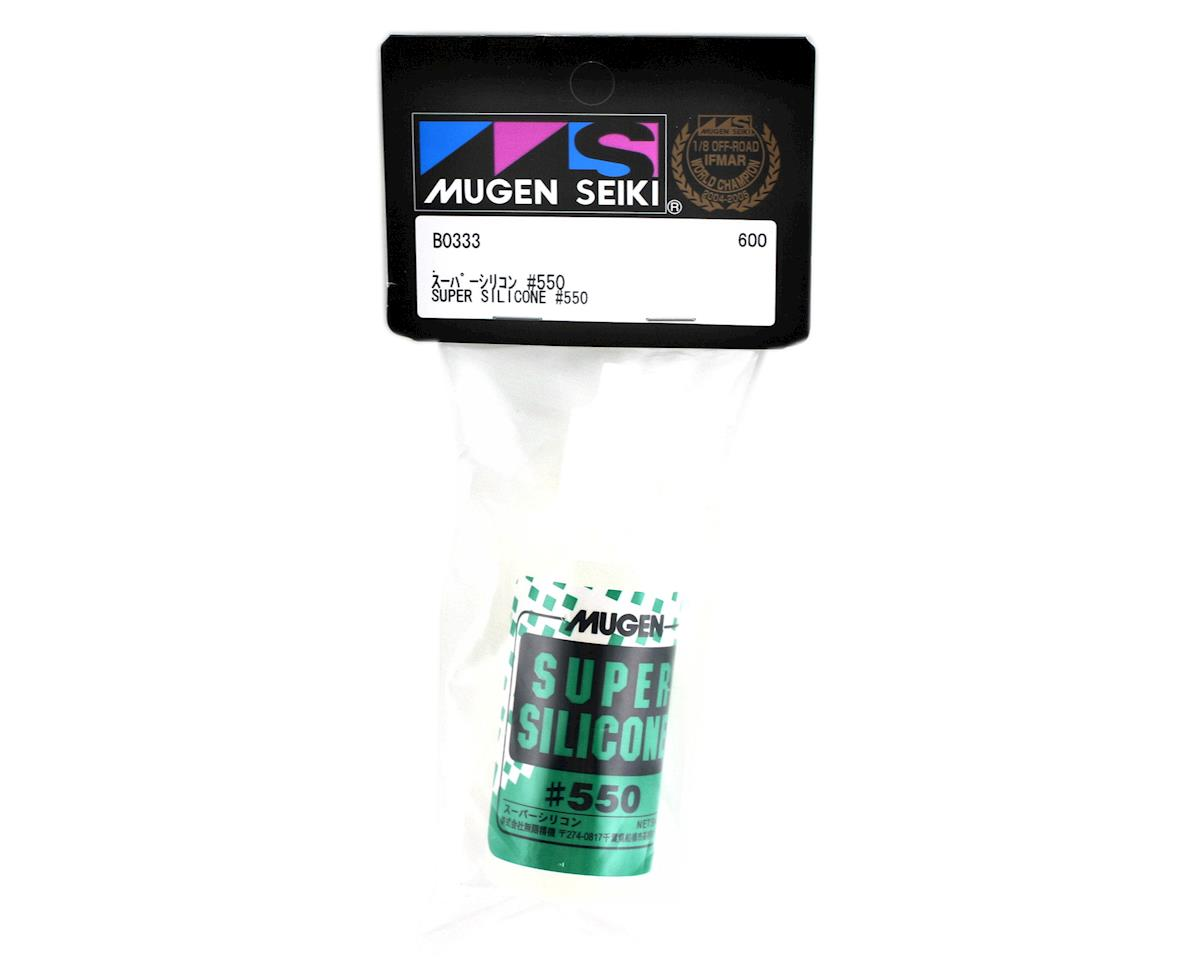 Mugen Seiki Super Silicone Shock Oil (50ml) (550cst)