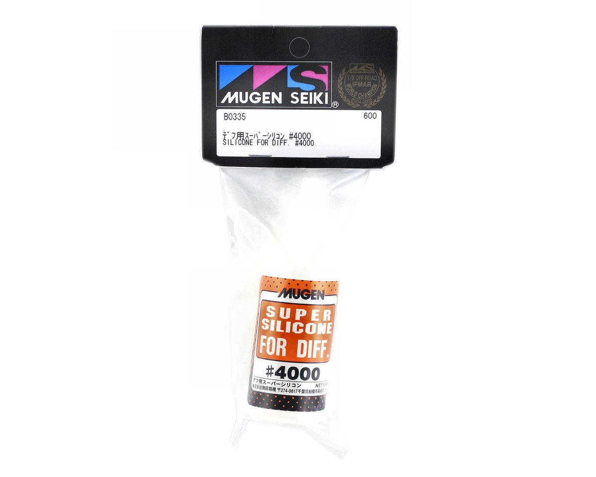 Silicone Differential Oil (50ml) (4,000cst) by Mugen Seiki