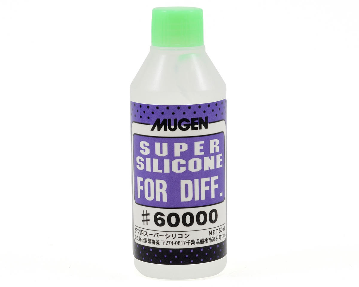 Silicone Differential Oil (50ml) (60,000cst) by Mugen Seiki