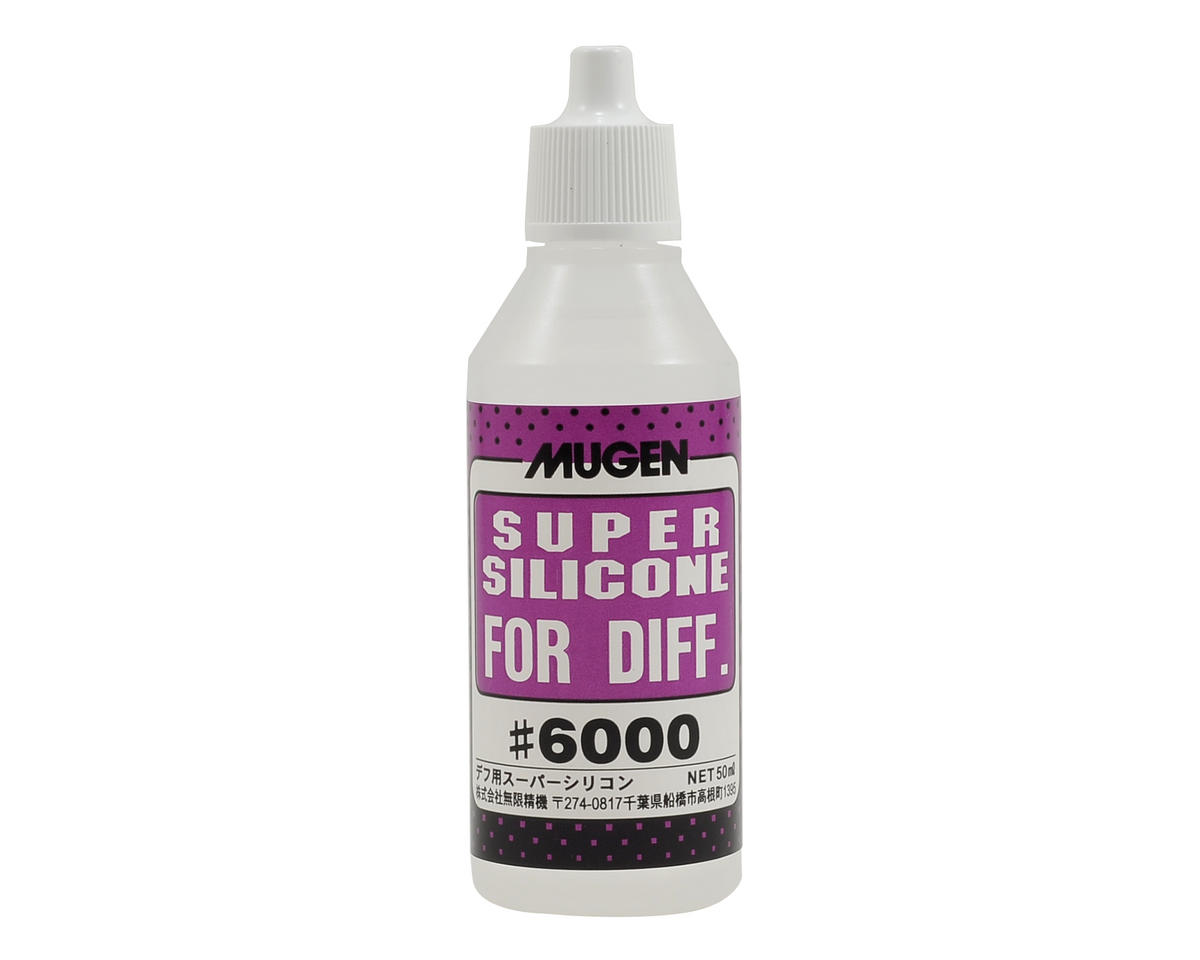 Silicone Differential Oil (50ml) (6,000cst) by Mugen Seiki