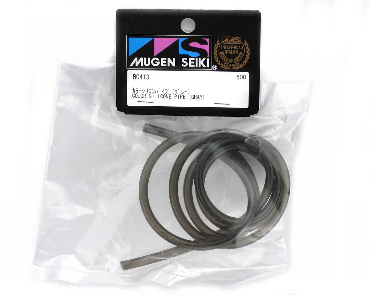 Color Silicone Pipe (Gray) (101cm) by Mugen Seiki