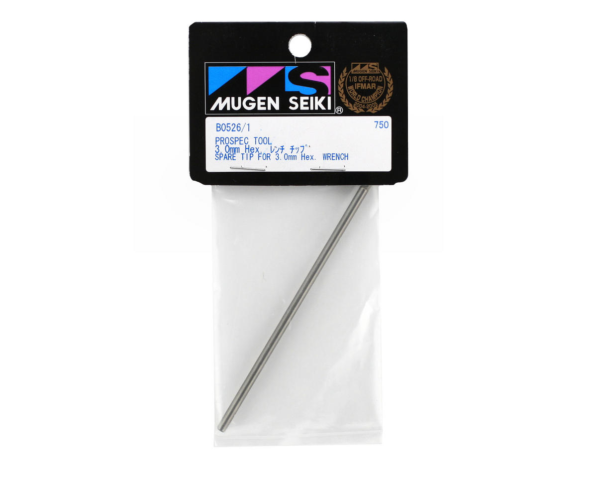 Mugen Seiki Prospec Hex Wrench Replacement Tip (3mm)