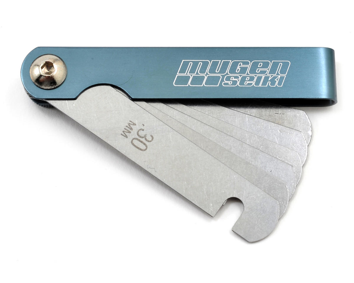 Clutch Spacing Thickness Gauge (.3 - .8mm) by Mugen Seiki
