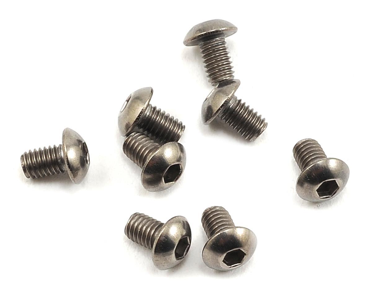Mugen Seiki 3x5mm SIG Button Head Titanium Screw (8)