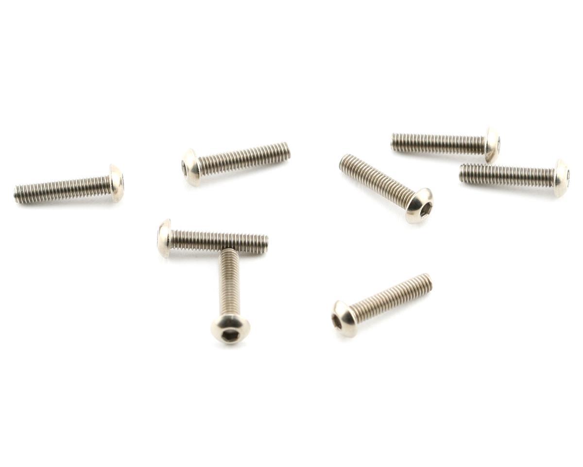 Mugen Seiki Titanium SIG 3x14 Button Head Screw (8)
