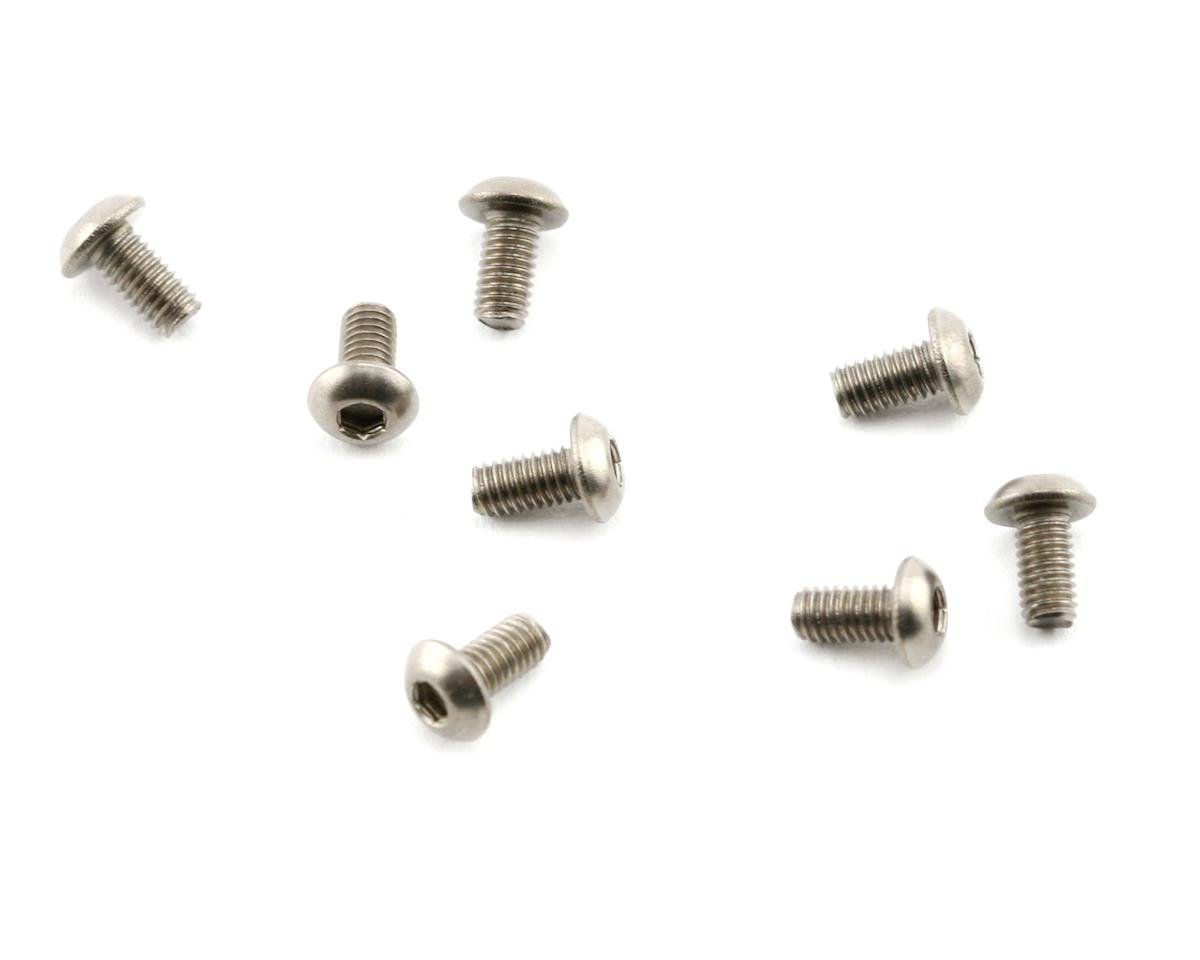 Mugen Seiki MTX5 3x6mm SIG Titanium Button Head Screw (8)