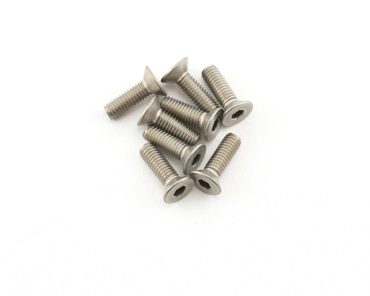 Mugen Seiki 3x10mm SJG Titanium Flat Head Screw (8)