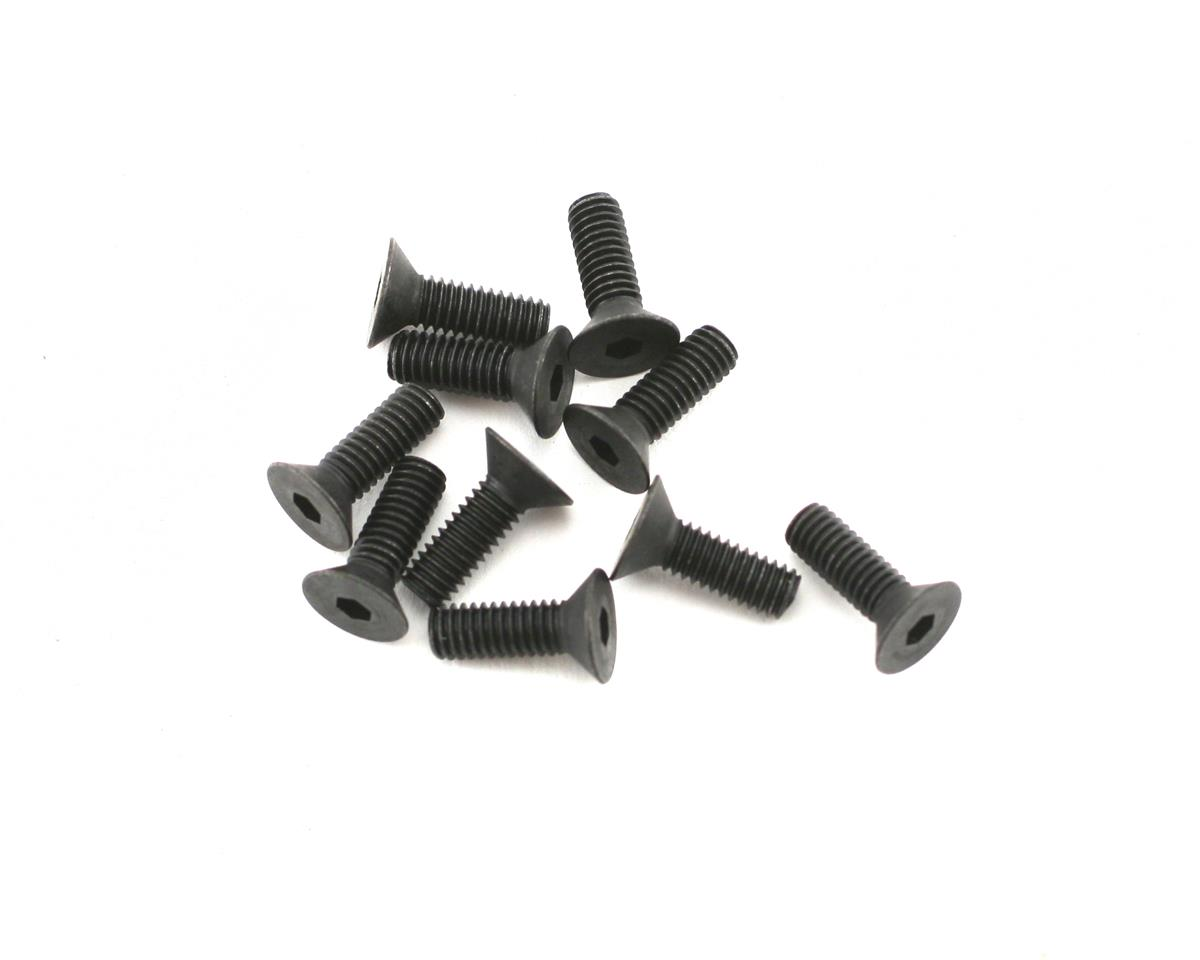 Mugen Seiki MRX5 SJG 4x12 Flat Head Screws (10)