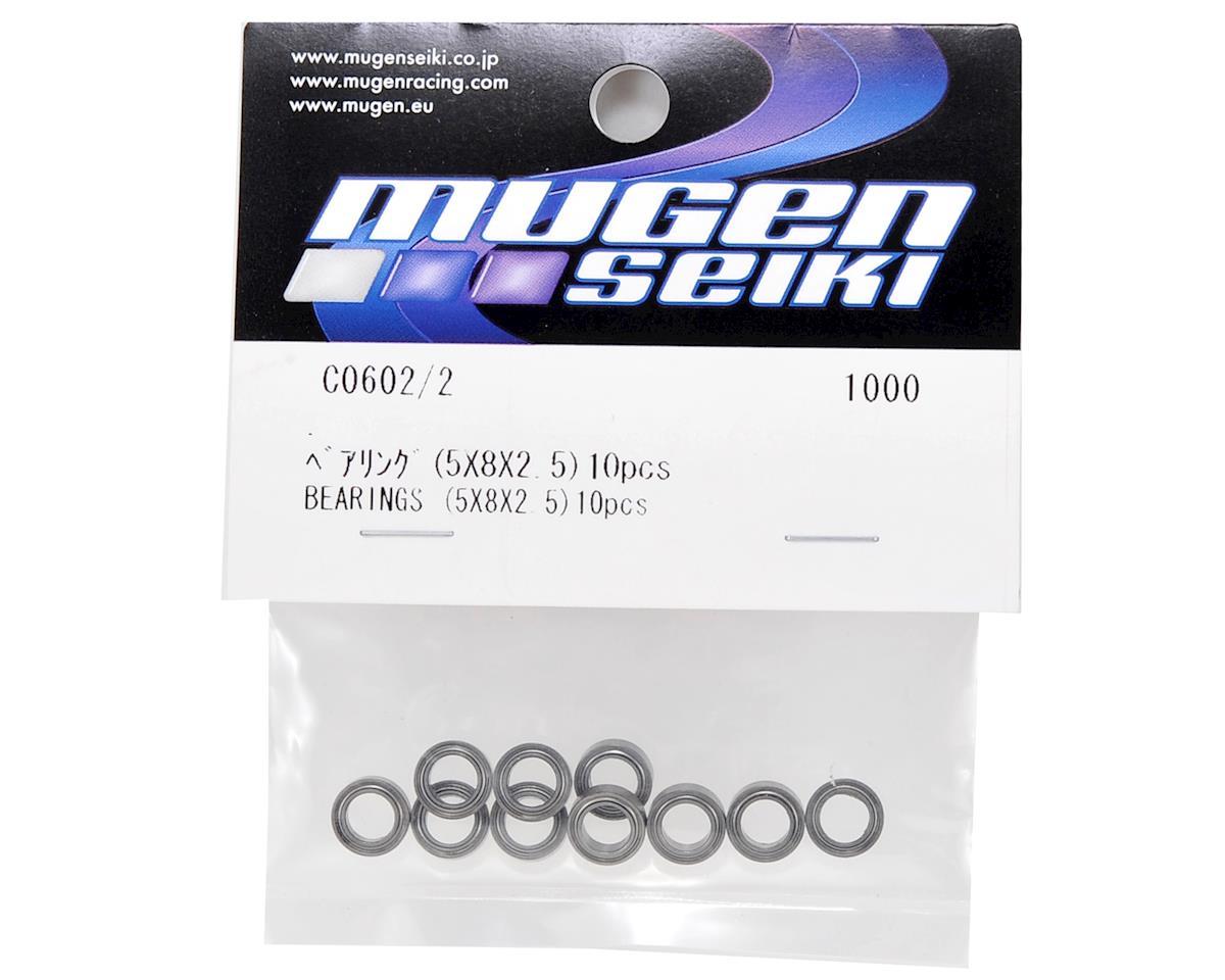 Mugen Seiki 5x8x2.5 Bearing Set (10)