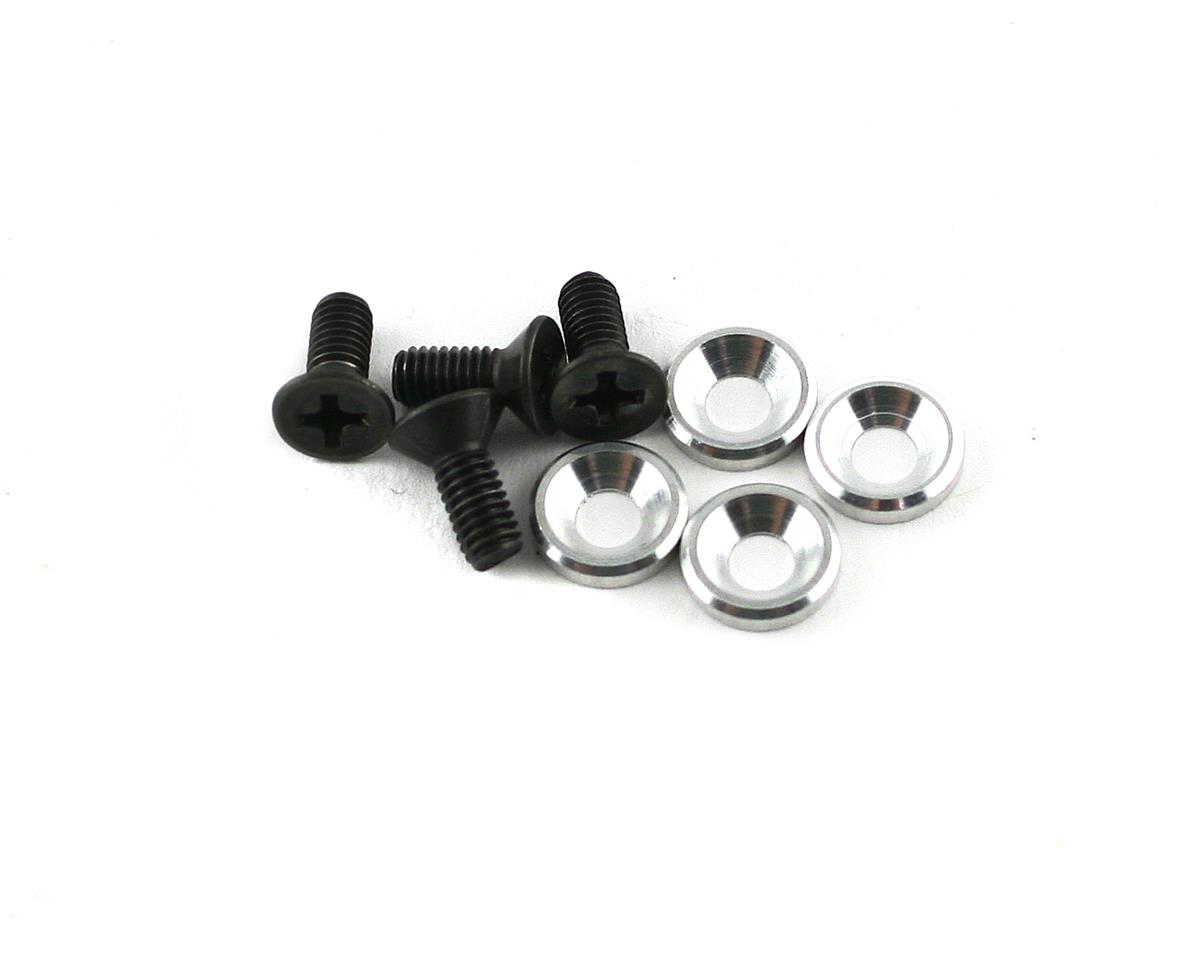 Mugen Seiki Engine Mount Screws/Washers (4)